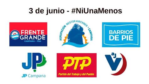 Solicitada: 3 de junio - #NiUnaMenos