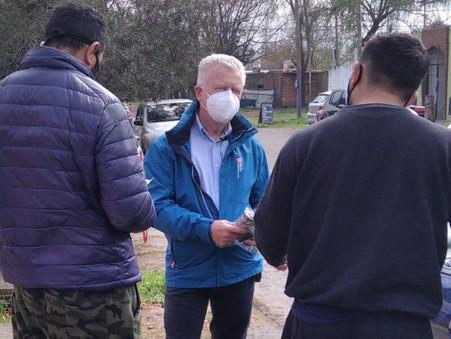 """Romano en Villanueva: """"Los vecinos saben que siempre los hemos defendido"""""""