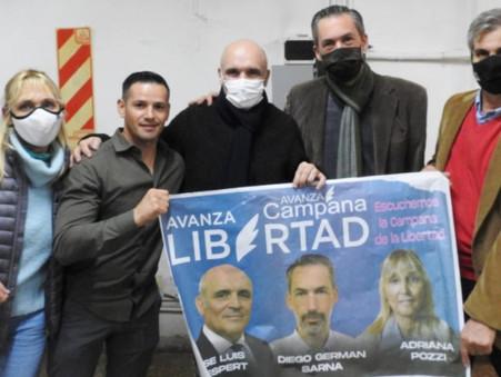 Referentes locales de ''Avanza Libertad'' volvieron a reunirse con José Luis Espert