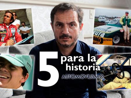 Sebastián Abella y su ''5 para la historia'' del automovilismo nacional