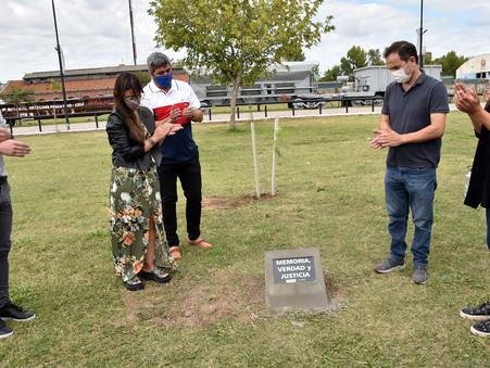El Intendente encabezó un acto por el Día de la Memoria en la nueva Costanera