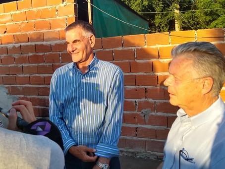 Rubén Romano: ''Los vecinos tienen en sus manos la posibilidad de salir adelante''