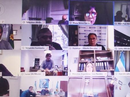 Reunión de funcionarios bonaerenses con intendentes de la 1° sección por el trabajo en las PyMES