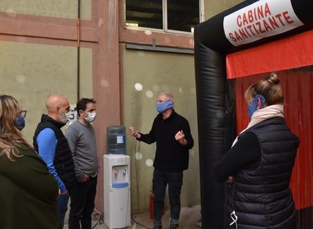 Covid-19: el Municipio contará con una cabina sanitizante