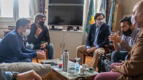 Abella se reunión con representantes de Naturgy por nuevas inversiones en la ciudad