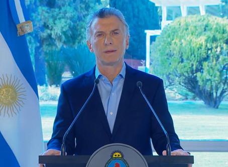 Tras la feroz devaluación, Macri anunció ''medidas de alivio''