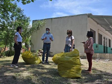 Otamendi: Desde Juntos por el Cambio destacaron la iniciativa de vecinos para mantener el barrio