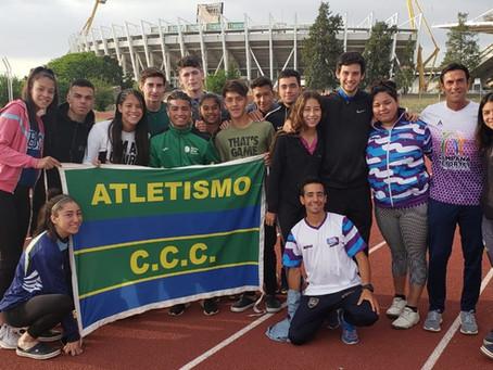 Atletismo: El C.C.C. logró dos títulos y tres podios en los Campeonatos Argentinos U16 y U18