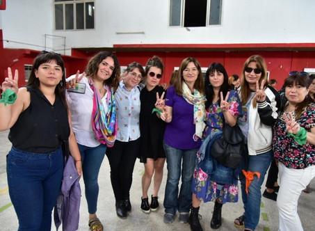 Campanenses participaron del encuentro de Mujeres Peronistas Bonaerenses de la 1° Sección Electoral