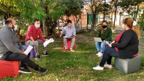 """Militantes de Abella lanzaron la """"Red Barrial de Apoyo Escolar"""""""