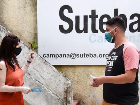 La sede de SUTEBA Campana será uno de los centros de vacunación contra el covid-19