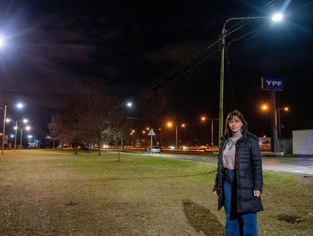 """""""Con luces LED, Abella sigue brindando mayor seguridad y más tranquilidad a todos los vecinos"""""""