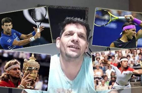 El tenis llega a ''5 para la historia'', de la mano del prof. Martín Crosio