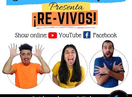 """""""Varietales por doquier"""" presenta su ciclo teatral online RE-VIVOS por YouTube"""