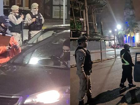 Se realizó un operativo de prevención y control en el centro de la ciudad
