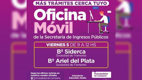 """El Municipio asesorará sobre el pago de tasas y servicios con una """"oficina móvil"""""""