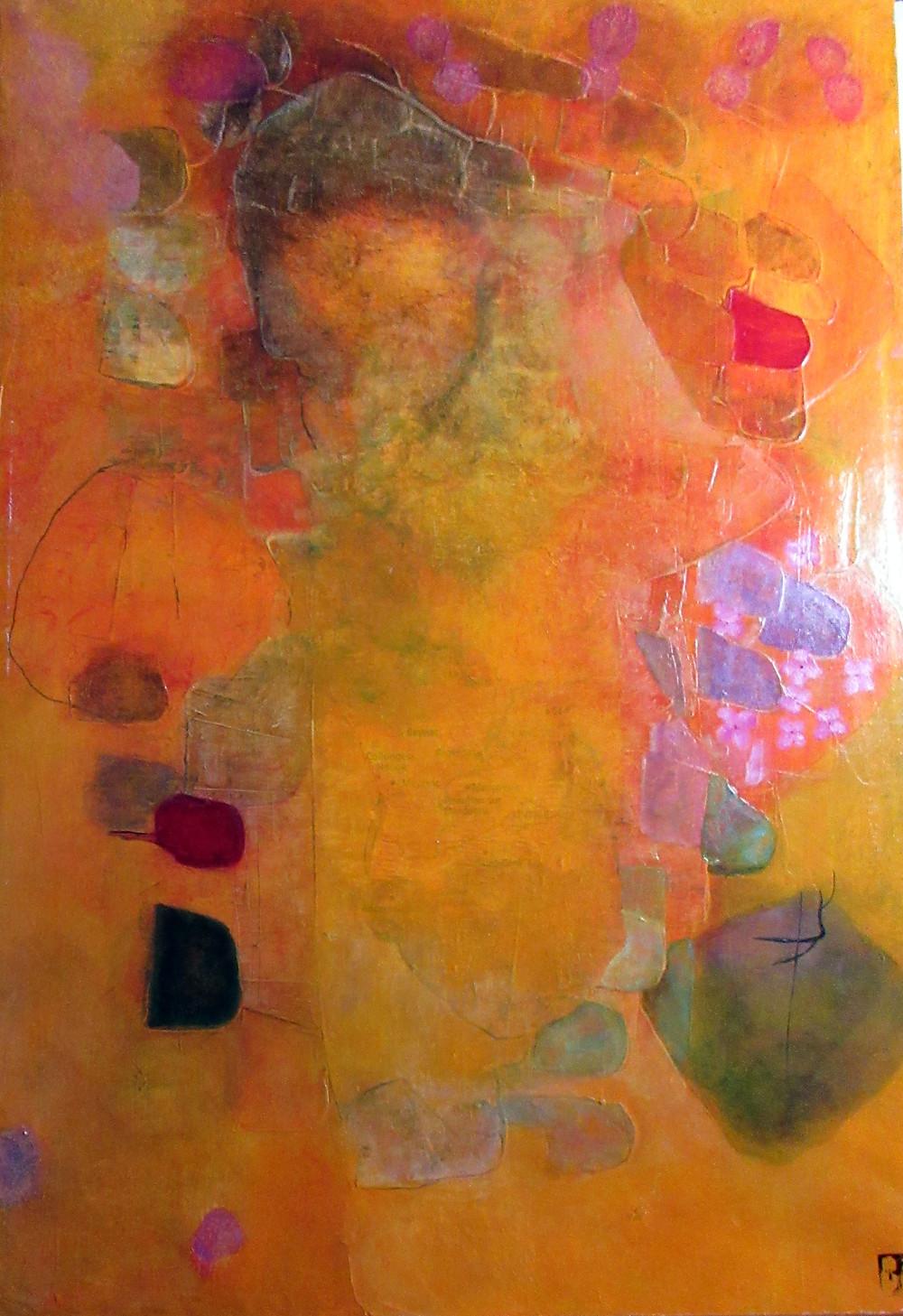 Patricia Jacquier, acrylique, technique mixte, collection personelle