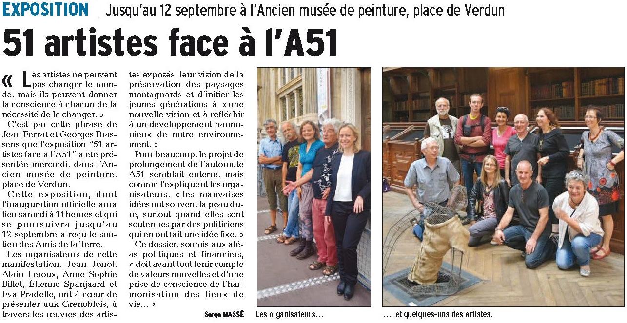 51 artistes face à l'A51