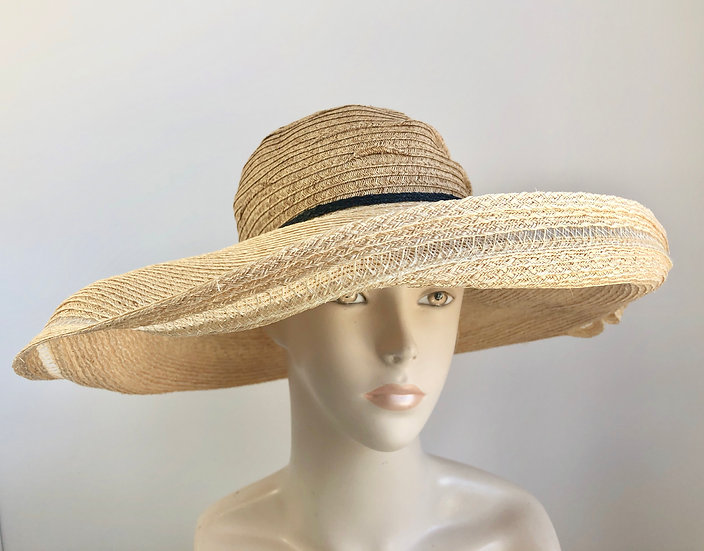 Lenore (wheat with natural, single black band)
