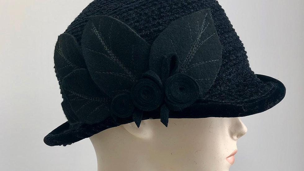 Daisy B cutaway  (black with leaves)