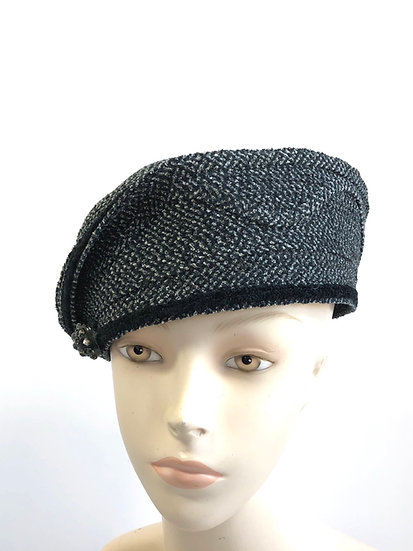 Lady Brett Ashley (black/grey tweed)