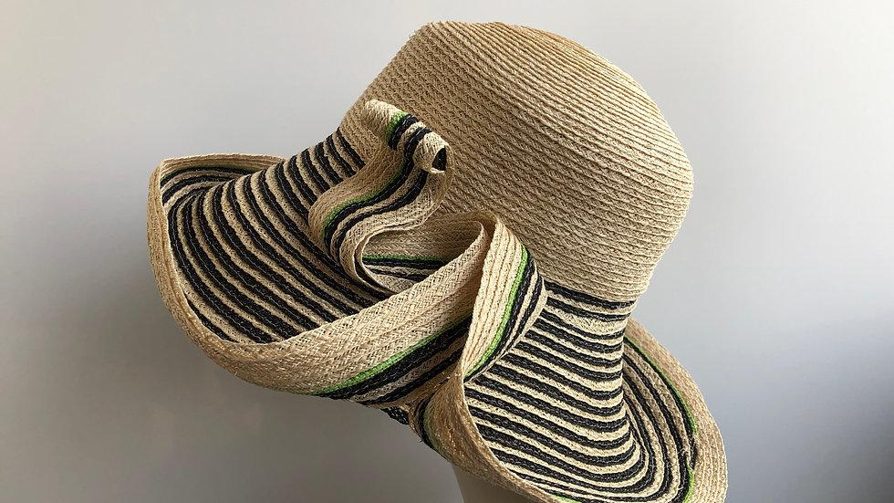 Lenore (Natural/Black Stripes)