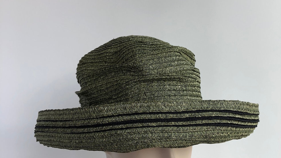 Elinor (olive green with black)