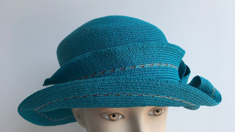 Caddy  (turquoise with tweed rio braid)