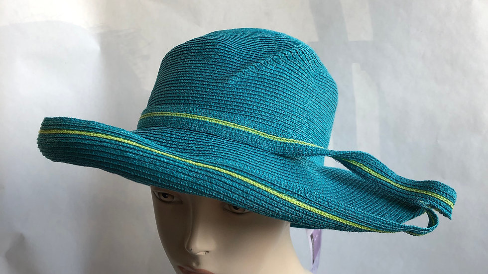 Lily Bart (Turquoise & Lime)