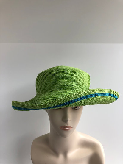 Lily Bart  (lime, turquoise, no twist)