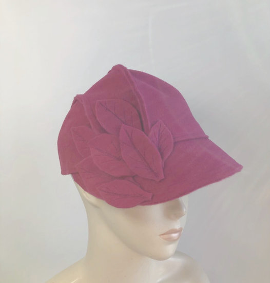 Jordan Baker cap (pink with leaves)