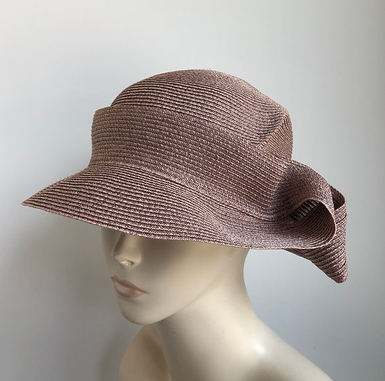Caddy  (dusty mauve, solid)