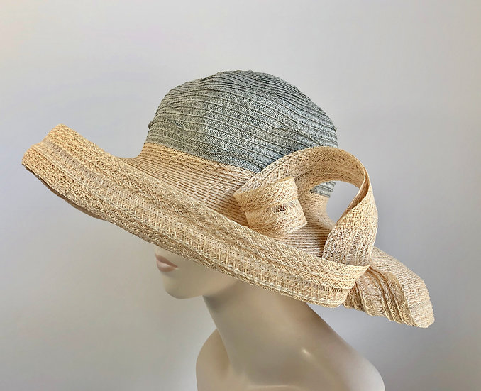 Lenore  (grey/natural, wide with twist)