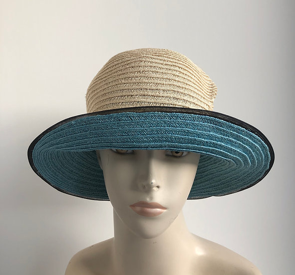 Bernice  (natural with turquoise)