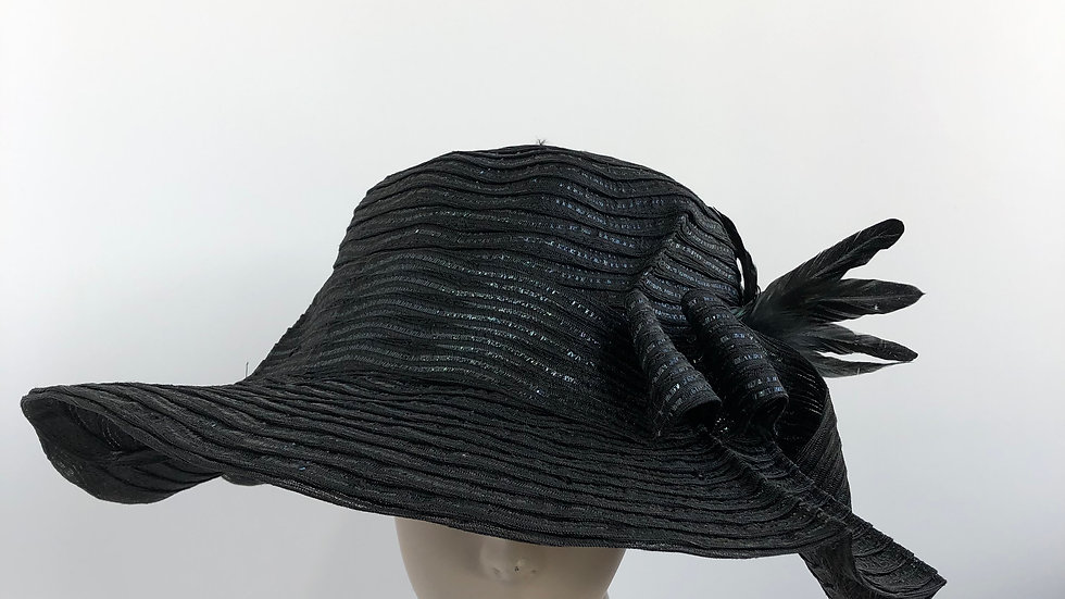 Gudrun  (all black, rooster accent)