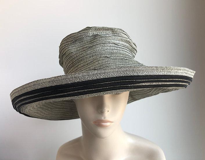 Myrna  (gray with black stripes, wide)