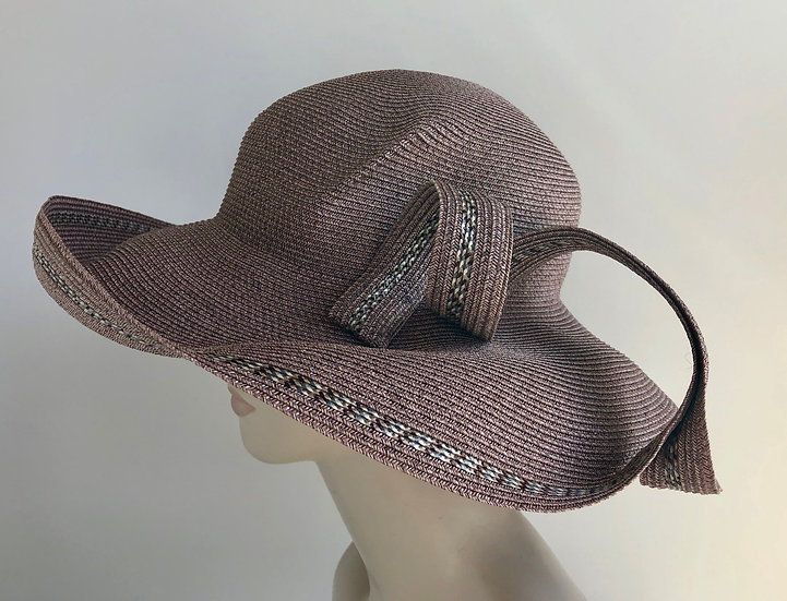 Lily Bart (earthy pink with tweed in curls)