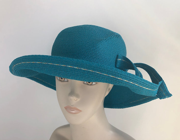 Lily Bart  (turquoise with tweed rio strand)