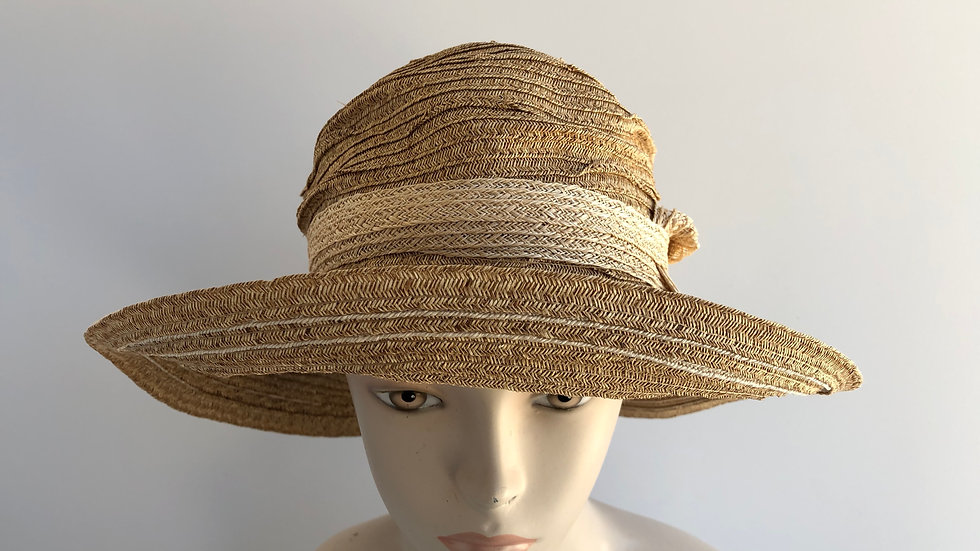 Myrna  (wheat/natural pinched crown)