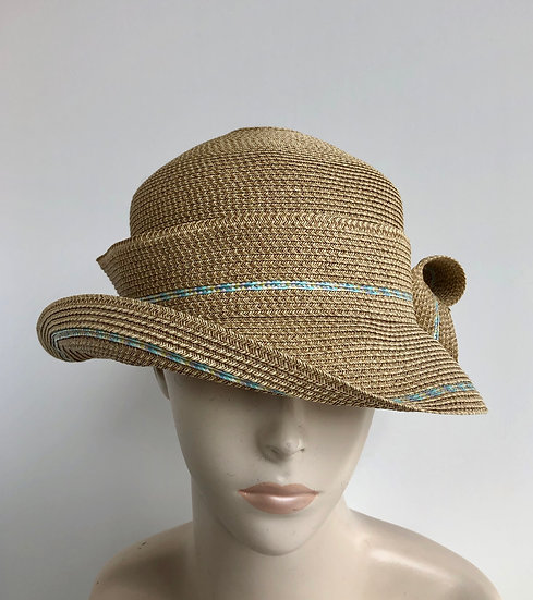 Caddy  (wheat with light blue tweed)