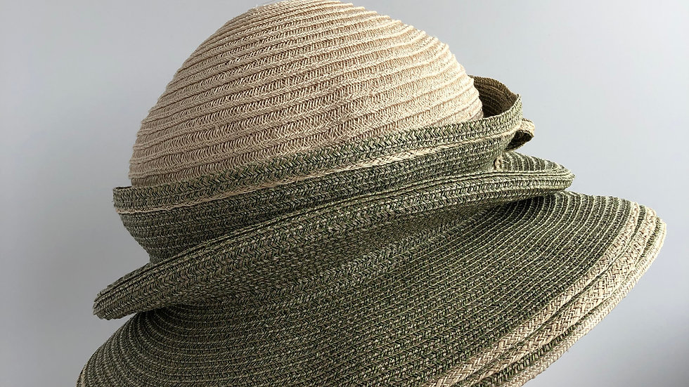 Molly Bloom (tiered, olive/natural)