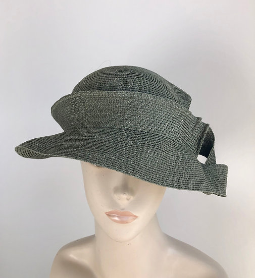 Caddy (olive with 1.5 pleats in band)
