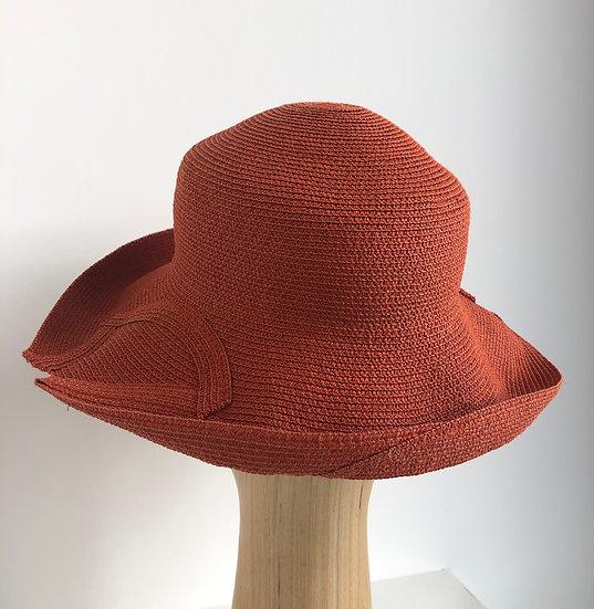 Georgiana  (brick orange,  x-small)