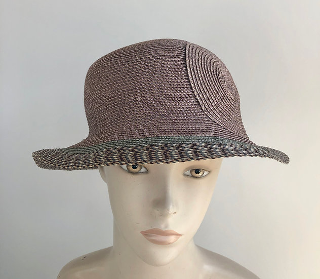 Spy Brim (earthy pink with rio at edge)