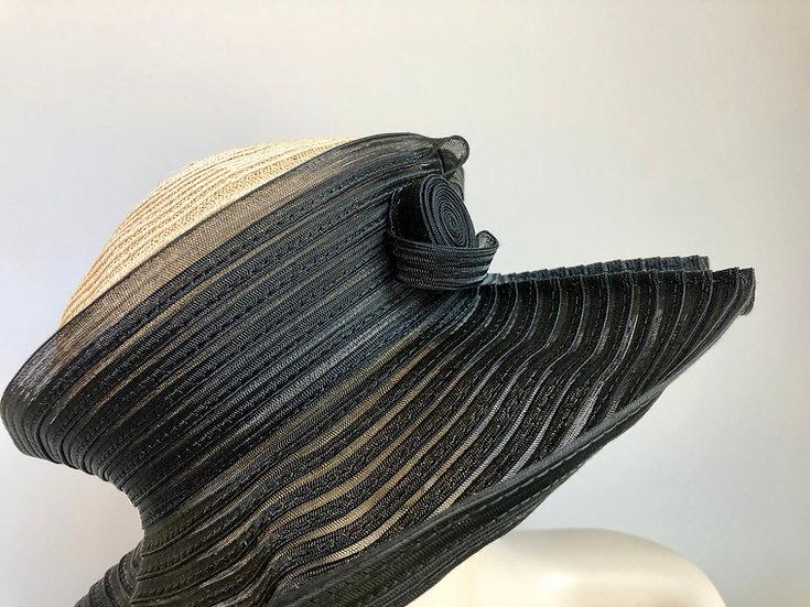 Ursula  (black horsehair/natural)