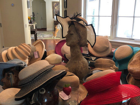 Mini Trunk show....have hats, will travel