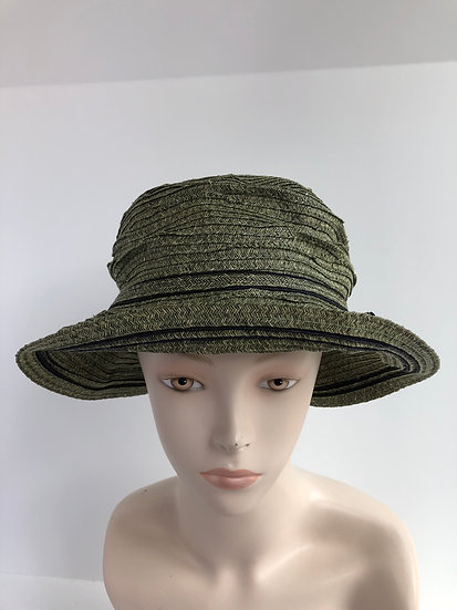 Daisy B (olive green with black)