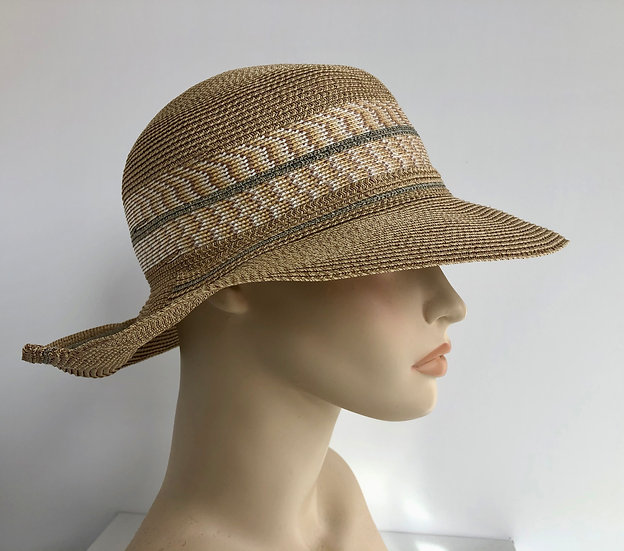 Lily Bart  (wheat, with gold tweed/gray)