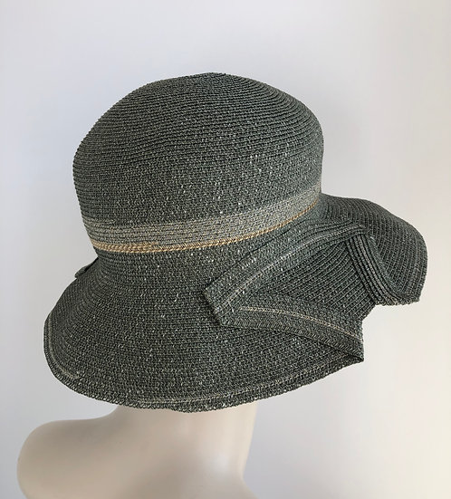 Georgiana (olive with gray/tan accent)