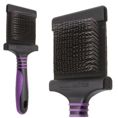 Pro Medium Flexible Slicker Brush (Purple)